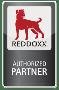 REDDOXX AUTHORIZED PARTNER Logo